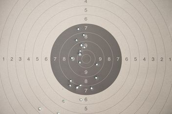 Police shooting target - image gratuit #304591