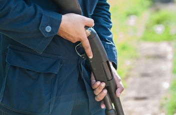 Police training rifle - Free image #304601