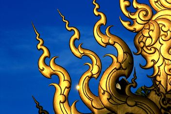 Detail of buddhism temple - image gratuit #304841