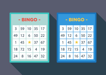 Vector Bingo Card - Free vector #305551