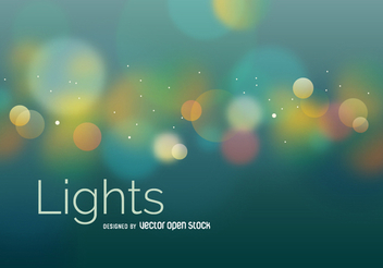 Blurred bokeh abstract background - vector #305671 gratis