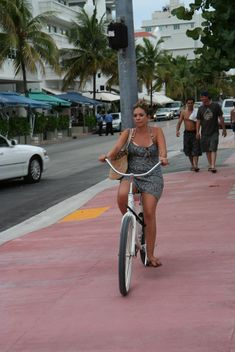 Enjoying Bicycle ride in Miami - Free image #305741