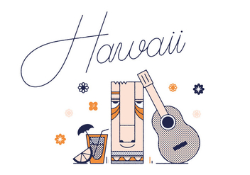 Free Hawaii Vector - бесплатный vector #305861
