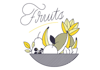 Free Fruits Vectors - vector gratuit #305871