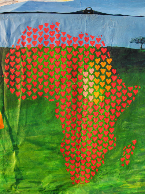 Africa in hearts - Free image #308241