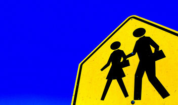Husband & Wife Walk . . . (to divorce court) - Free image #308831