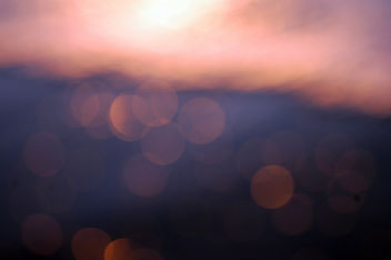 Sunset Over the Ocean - Bokeh Texture - Free image #313541