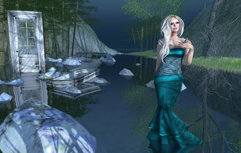 Stranded Mermaid - Free image #315121