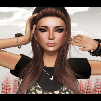 -Belleza- Ashley SK BBB 1 & TRUTH HAIR Kerri 2 - Browns01Fade - бесплатный image #315641
