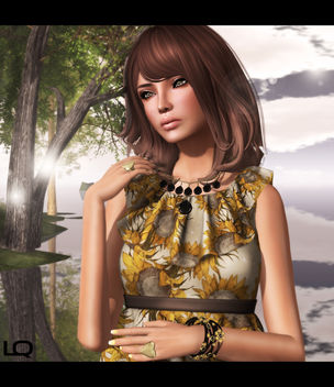 -Belleza- Ashley SK BBB 2 & TRUTH HAIR Kimbra [Roots] - Browns01Fade - Free image #315701