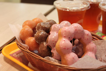 Lunch at Mister Donut in Taipei - image gratuit #317081
