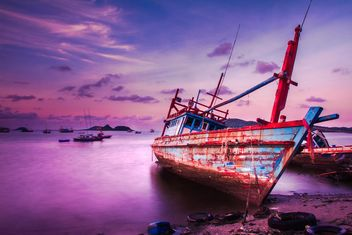 Boat on the beach - image gratuit #317411