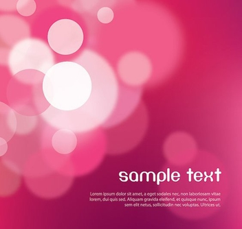 Violet Bokeh Lights Background - Free vector #317741