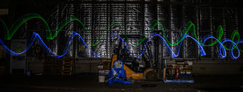Forklift Light Painting - image gratuit #320301