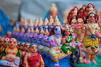 Pattern of Gods - Navarathri Golu Dolls - бесплатный image #321341