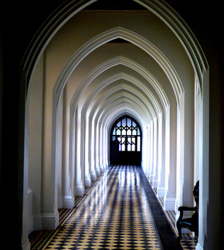 Corridor in Stanbrook Abbey #leshainesimages # dailyshoot - бесплатный image #324301