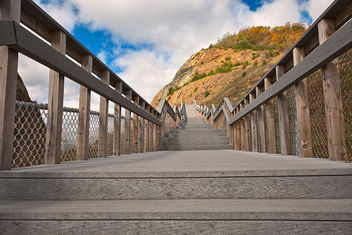 Sideling Hill Stairway - HDR - image #324531 gratis