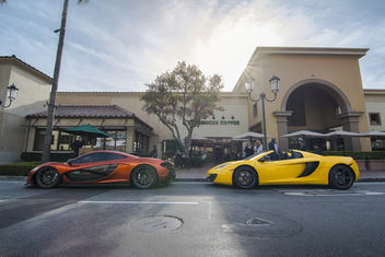 McLaren P1 and MP4-12C Spider - бесплатный image #324891