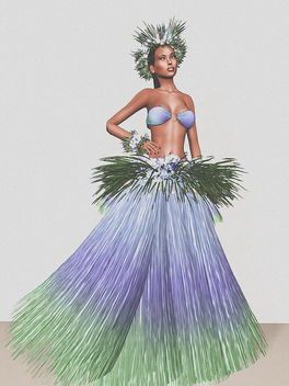 What outfit I would wear for a Hawaiian dance? - Free image #325401