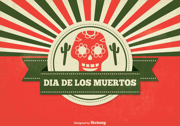 Dia de Muertos Illustration - Free vector #326621