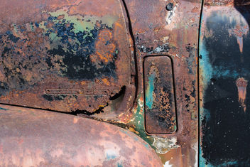 Old Rusty Truck Detail - Kostenloses image #326971
