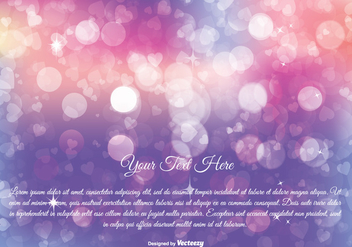 Colorful Abstract Bokeh Background - vector #327061 gratis