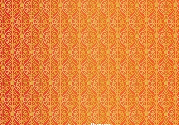 Ornament Orange Wall Tapestry - Free vector #327141
