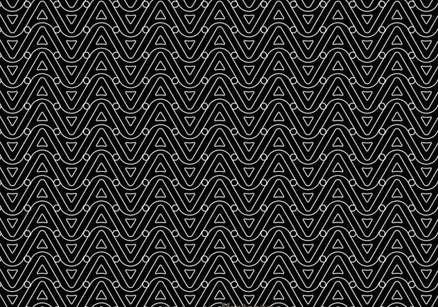 Black And White Wave Pattern - бесплатный vector #327151
