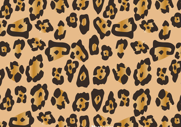 Natural Leopard Pattern - vector gratuit #327591