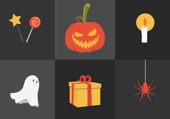Vector Halloween Pumpkin - vector gratuit #327611