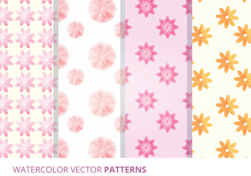 Vector Seamless Patterns - Free vector #327901