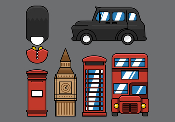 Vector London Street Icon - vector gratuit #328221