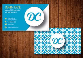Business Card Vector Design - vector gratuit #328251