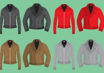 Leather Jackets - vector gratuit #328281