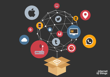 Vector Internet of Things - Free vector #328691