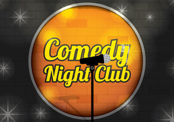 Comedy Club Background Vector - бесплатный vector #328781