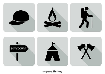 Boy Scout Icon Set - бесплатный vector #328891