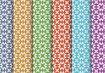Colorful Vector Patterns - Kostenloses vector #328911