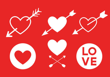 Love Vector Icons - Free vector #329431