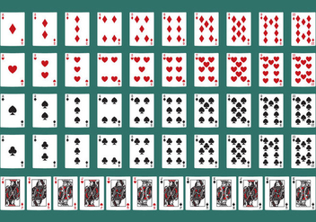 Poker Cards - vector gratuit #329531
