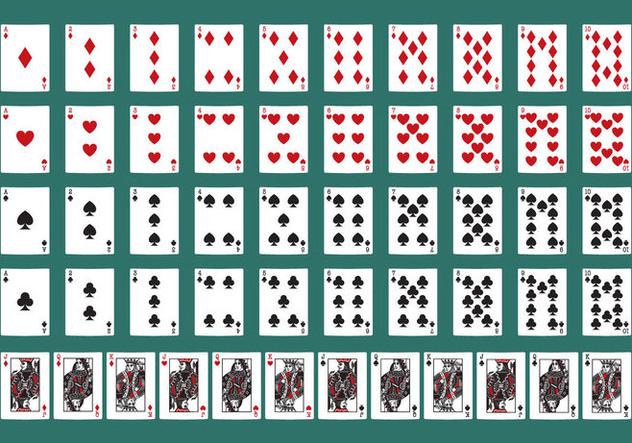 Descargar Vector Cartas De Poker Gratis 329531