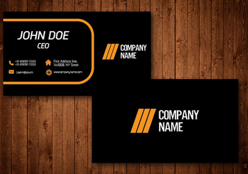 Creative Business Card - vector #329811 gratis