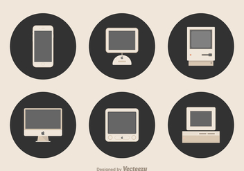 Free Apple Devices Vector - vector gratuit #330051