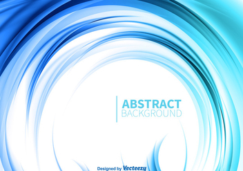 Blue abstract background - Free vector #330171