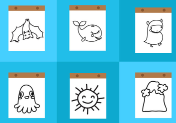 Coloring Pages - vector #330541 gratis