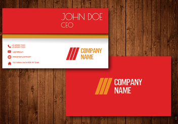 Creative Business Card - vector #330551 gratis