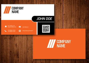 Creative Business Card - vector #330561 gratis