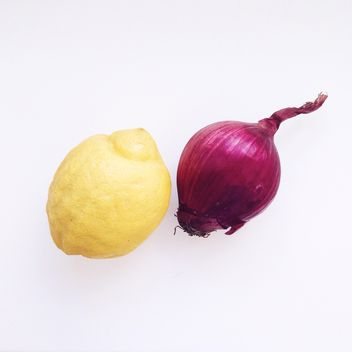 onion and lemon - image gratuit #330711