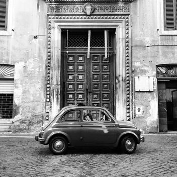 Old Fiat 500 car - Free image #331101