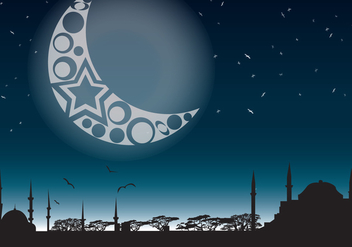 Night in the Mystic East - Free vector #331121